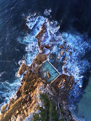 Autumn blues (Jay Daley) Tags: australia nsw oceanpool curlcurl sydney dronephotography aerialphotography aerial phantom4pro dji drone