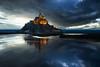 Le Mont (LDream2505 (Michel Dogniaux)) Tags: vert mont saint michel st normandie normandy blue sky clouds nuages bleu drama light