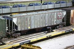 CB&Q Class LO-10 184643 (Chuck Zeiler) Tags: cbq class lo10 184643 burlington railroad covered hopper freight car cicero train chuckzeiler chz