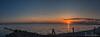 Panorama Sunset Grevelingen (BraCom (Bram)) Tags: bracom bramvanbroekhoven goereeoverflakkee grevelingen grevelingenmeer holland nederland netherlands panorama southholland zuidholland avond cloud evening fence hek landschap paaltjes poles reflection reflections sky spiegeling sun sunset water windmill windmolen windturbine wolk zon zonsondergang nl