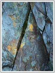 Triangulation (adam_pierz) Tags: ballachulish quarry slate blue micro43 microfourthirds olympusomd closeup