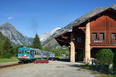 Morgex (Paolo Brocchetti) Tags: aln663 ferrovia aosta présaintdidier morgex stazione regionale trenitalia automotrice nikon d800 24120