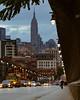 Shadow of the City (stephen_tvedt) Tags: hoboken newyorkcity nyc new york skyline bridge clouds cityscape urban