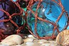Blown glass fishing net floats from back in the day (Fouaustral) Tags: fishingnet float blownglass sphere beachcombing maritimerelics macromondays backintheday