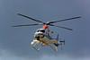 Nakanihon Air Service (NAS) Bell 430  JA121T (cn 49009) (Matthias Harbers) Tags: tokyoheliport kōtō tokyo japan building reflection sky blue nikon1v3 nikkor vr city dxopl topazlabs photoshopelements raw nef helicopter nikon1 nikon170300mmf455 dxo flighing airport