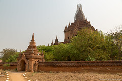 Myanmar-20180324-1253 (ShaneAndRobbie) Tags: nyaungu mandalayregion myanmarburma mm myanmar burma bagan pagoda temple baganarchaeologicalzone baz