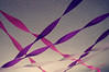 Celebrate (hollyzade) Tags: happy birthday streamers ceiling purple pink white cool colors abstract decoration nikon d40 nikond40