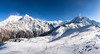 Fishtail Mountain Pano (Josh Hickinbotham) Tags: mountains mountain fishtailmountain machapuchare nepal himalaya