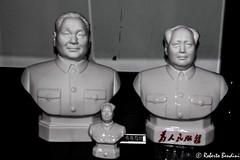 The Great Helmsman at sales price (Roberto Bendini) Tags: dengxiaoping art sale statue communist maotzedong mao china cina hangzhou asia shanghai model portrait