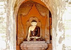 Gu Byauk Nge Temples of Bagan Myanmar-39 (Yasu Torigoe) Tags: gubyaukngetempleandassociatedtemplesarenearthewetkyii thegovernmenthasusedchemicalstoclearthethicksootleftb nyaungu mandalayregion myanmarburma mm thegovernmenthasusedchemicalstoclearthethicksootleftbehindoffofthestuccoworkbaganmyanmar