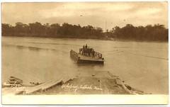 Selkirk - River Ferry, 1905 (vintage.winnipeg) Tags: manitoba canada vintage history historic ruralmanitoba selkirk