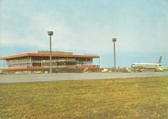 BTS01 (By Air, Land and Sea) Tags: airport postcard bts bratislava czechoslovakia bratislavaairport
