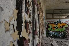 Sanatorium abandonné (Dimitri Darnanville) Tags: urbexsanatoriumhopitalexplorationgraffitimaladetuberculose urban canon 100d hdr explore graff art arts 1855 picture pict decay lost perdu landscape fire architecture architecturale urbexsanatoriumhopitalexplorationgraffitimaladetuberculoseurbanprofondeurperspectivebracketingposelongue