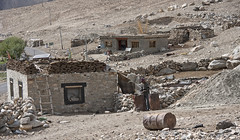 Local housing (bag_lady) Tags: stonebuilding localhousing ladakh jammuandkashmir india pangonglakeroad structures homes construction remote himalayas