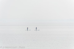Stand-up Paddling on Lake Garda (jr-teams.com - Photo) Tags: monigadelgarda lombardia italien nikon d700 nikkor afs 455670300 vr g ifed standup paddling sup lake lago garda gardasee covered cloudy fog outdoor water surf surfing