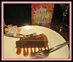 It's My Birthday! (bigbrowneyez) Tags: birthday celebration cake mybirthday april152018 party lunch festive itsmybirthday snow sleet rain freezingrain mothernature winterspring inverno primavera buoncompeanno miocompleanno beautiful stilllife dessert birthdaycard fun decadent chocolate delicious mood atmoshere frame cornice crazymothernature pecan caramelsauce rich delightful cumpleanos april aries