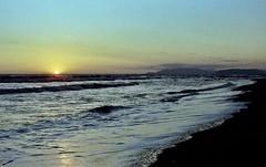 Sunset in Versilia (michele.palombi) Tags: tramonto sunset versilia tuscany spiaggia analogic film kodak ultramax400 colortec c41 negativo colore stagioni