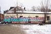 Rain (NJphotograffer) Tags: graffiti graff new jersey nj trackside rail railroad rooftop rain sfb vs crew