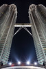 Chrome Twins (burntpixel.ca) Tags: patrick mcneill burntpixel burntpixelca photo photography travel voyage east adventure malaysia asia architecture canon 6d canon6d petronas towers silver chrome night evening lights buildings tall tallest vertical kuala lumpur