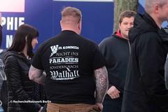 """13.04.2018 Jüterbog: """"Zukunft Heimat"""" findet kaum Unterstützung (RechercheNetzwerk.Berlin) Tags: zukunftheimat rassismus nationalismus neonazis birgitbessin christophberndt jüterbog"""