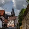 Mengsberg (blasjaz) Tags: blasjaz kirche kirchturm fachwerk fachwerkhaus mengsberg mengsbergneustadt neustadthessen hesse hessen germany