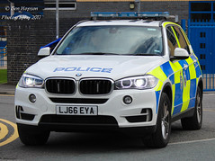LJ66 EYA (Ben - NorthEast Photographer) Tags: durham constabulary cleveland police cdsou specialist operations unit 2016 bmw x5 arv armed response vehicle rpu roads policing anpr automatic number plate recognition camera grille lights
