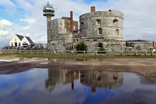 Calshot Castle and Lifeboat Station