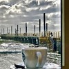 Coffee at the pier... (mau_tweety) Tags: coffee caffè sea mare molo pier cup tazzina