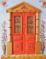 Traditional Mediterranean-Greek front door- Mediterranean aesthetic (Archipelago65) Tags: traditional mediterraneangreek front door mediterranean aesthetic frontdoor mediterraneanaesthetic