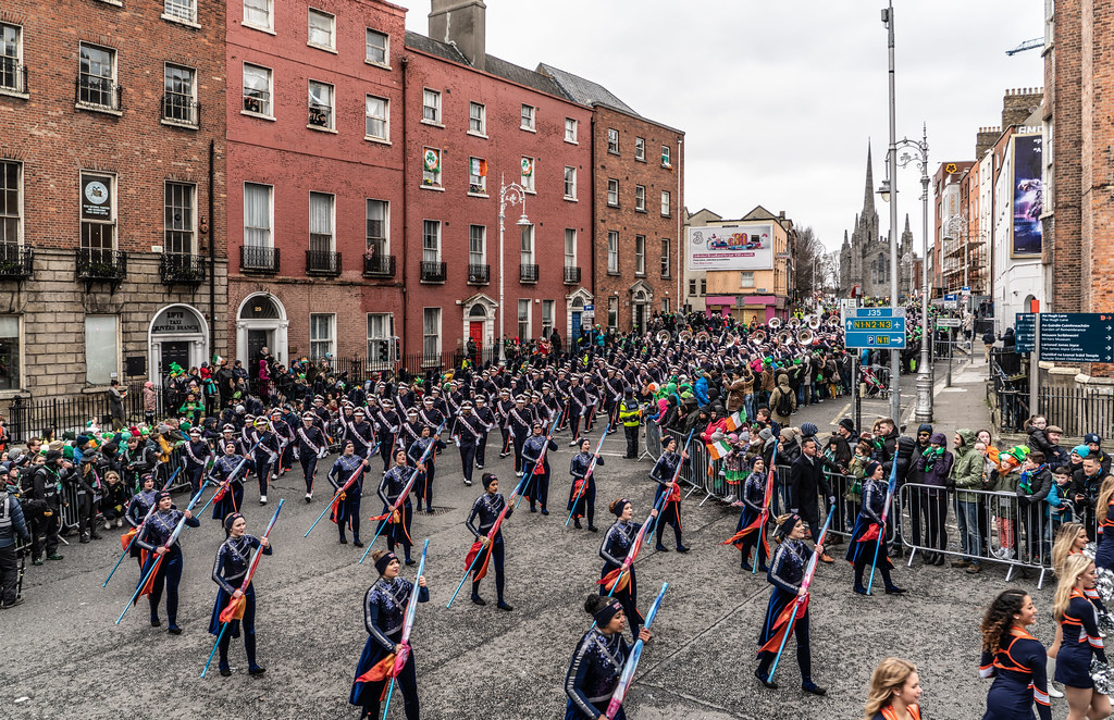 DUBLIN SAINT PATRICKS PARADE 2018 [THE MARCHING ILLINI]-137391