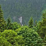 Bridal Veil Falls and a View of a Mountainside thumbnail