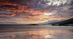Dingle (OgniP) Tags: sunrise sky sea beach water ocean landscape