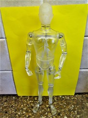GI JOE CLUB exclusive clear figure (toyboytycoon) Tags: gi joe action man club con exclusive clear plastic