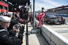 Sailors observe a NASCAR pit crew during the race. (Official U.S. Navy Imagery) Tags: ussamerica sailors people usnavy lha6 nascar autoclub400 autoclubspeedway fontana california race calif unitedstates