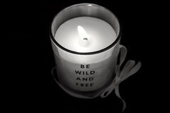 Candle (picsbyCaroline) Tags: candle light flame close chill relax relaxing dark blackandwhite black fire