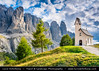 Italy - Alps - Dolomites - Gardena Pass - Passo Gardena - Lonely Church (© Lucie Debelkova / www.luciedebelkova.com) Tags: gardena gardenapass passogardena dolomites dolomiti southtyrol alps alpine italy italian italia italianrepublic republicofitaly repubblicaitaliana southeurope country europe europeanunion eu italianpeninsula italie world exploration trip vacation holiday place destination location journey tour touring tourism tourist travel traveling visit visiting sight sightseeing wonderful fantastic awesome stunning beautiful breathtaking incredible lovely nice best perfect landscape nature mountains valley wwwluciedebelkovacom church tree grass green cloud building village mountain