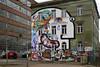 Photowalk mit Fotofreunden (ingrid eulenfan) Tags: leipzig plagwitz photowalk fotografen fototour haus gebäude graffiti sonye30mmf35 karlheinestrase