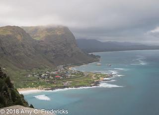 Honolulu HI - Makapu'u lookout view