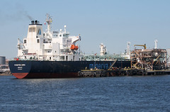 MINEPBA ANNA in New Jersey, USA. March, 2018 (Tom Turner - NYC) Tags: dock docked pier shore shoreline tanker water waterway channel spot spotting tomturner kvk killvankull statenisland bigapple newyork nyc usa unitedstates newjersey gardenstate bayonne marine maritime pony port harbor harbour transport transportation minerva minepba minepbaanna