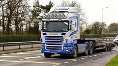 07-MO-4322 (Martin's Online Photography) Tags: scania r560 v8 truck wagon lorry vehicle freight haulage commercial transport nikon nikond7200 a580 leigh lancashire