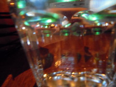 DSC02459 (classroomcamera) Tags: closeup abstract glass plastic cup cups glasses green orange dark clear table tables eat eats eating drink drinks drinking dinner lunch meal meals