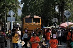 I_B_IMG_8881 (florian_grupp) Tags: southeast asia thailand siam thai train railway railroad srt staterailwayofthailand metregauge metergauge kanchanaburi deathrailway riverkwai japan ww2 bridge riverkwaibridge famous