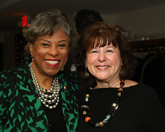 Representative Brenda Lawrence and Hadassah Greater Detroit President Carol Ogusky