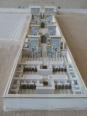 Aten Temple, Amarna (Aidan McRae Thomson) Tags: amarna egypt museum ancient egyptian temple model reconstruction