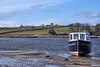 Reckless (scottprice16) Tags: boat england northumbria northumberland estuary riveraln alnmouth march spring 2018 tide sand fields view landscape outdoors reckless marine moored fuji fujixt1 18135mm