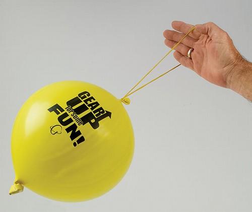 Punchballon Bedrukt Punchballonnen Bedrukken