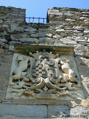 Blason des Vicomtes de Castelnou