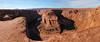 Glen Canyon - Horseshoe Bend Pano (Drriss & Marrionn) Tags: travel arizona usa glencanyon roadtrip desert red canyon horseshoebendobservationarea horseshoebend river landscape landscapes overlook mountain coloradoriver rock panorama mountains