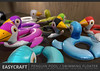 EASYCRAFT - Full Perm Penguin Floater (Fourth Oxygen) Tags: sl secondlife mesh penguin floats floater summer