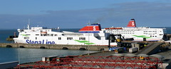 18 04 07 Stena Horizon and Stena Europe at  Rosslare (2) (pghcork) Tags: stenaline stenaeurope stenahorizon rosslare ferry ferries wexford ireland carferry 2018
